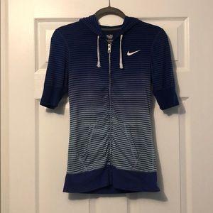 NWOT Nike Short Sleeve Running Jacket Size XS